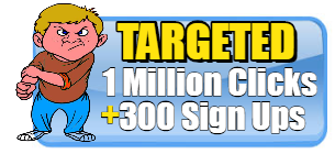SALE 10 MILLION TARGETED HITS AND 5000 SIGN UPS! $19.99